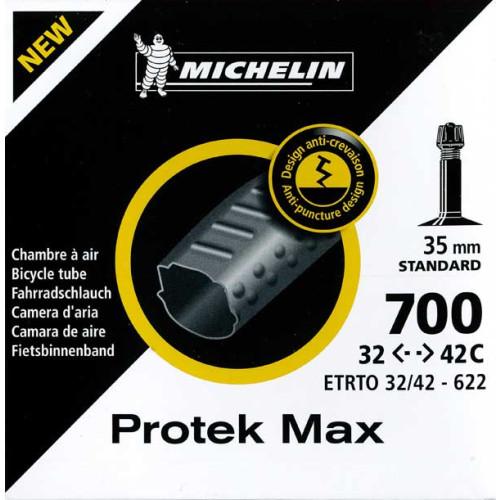 increvable chambre air michelin protek max 700x32 42c. Black Bedroom Furniture Sets. Home Design Ideas