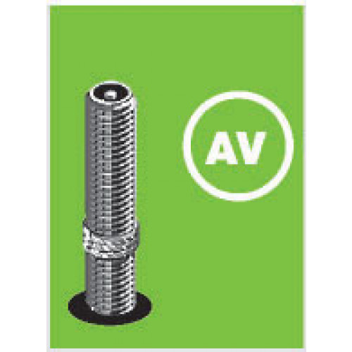 Increvable chambre air schwalbe av5 18p 450a valve for Chambre a air pour diable