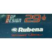 Kit Conversion Tubeless RUBENA pour 2 roues 29 pouces