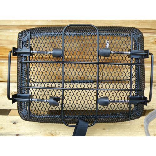 Increvable panier arri re noir pour v lo fixation ressorts sur porte bagage - Porte bagage velo 20 pouces ...