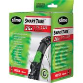 Chambre à air auto-obturante SLIME remplie de Slime 26x1.75/2.125 - valve Presta 48 mm - ETRTO 47/57-559