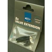 Set de 2 prolongateurs de valve presta 30 mm