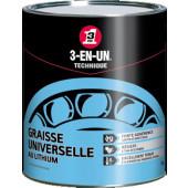 Graisse Universelle au Lithium 3en1 - pot de 1 kg