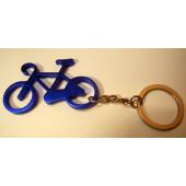 Porte clé vélo bleu foncé
