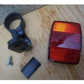 Catadioptre arrière avec collier de fixation diamètre 25.4mm à 27,2mm