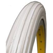 Bandage Plein Greentyre CLASSIQUE Gris - 24x1 3/8 - ETRTO 37-540 - largeur intérieure de jante 19 à 21 mm