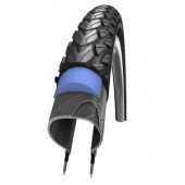700x40C Schwalbe MARATHON PLUS TOUR HS 404 SmartGuard tringle Rigide - ETRTO 42-622