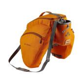 Sacoche arrière Vaude eSilkroad plus orange, fixation sur plate forme