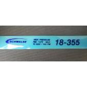 "Fond de jante Schwalbe Haute Pression 18"" - largeur 18 mm - ETRTO 18-355"