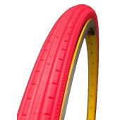 Pneu plein Greentyre ESPRIT Rouge - 700x28C - largeur intérieure de jante 12.5 à 14 mm - ETRTO 28-622