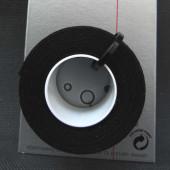 Guidoline coton tressée noire