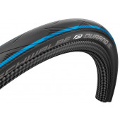 700x25C Pneumatique Schwalbe DURANO HS464 bandes bleues tringle souple - ETRTO 25-622