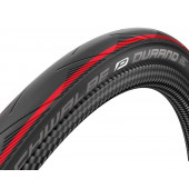 700x25C Pneumatique Schwalbe DURANO HS464 bandes rouges tringle souple - ETRTO 25-622
