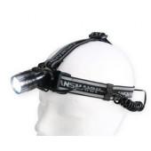 Lampe frontale Ansmann HEADLIGHT HD3 avec lampe arrière