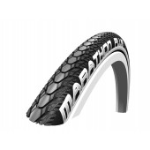 22x1.00 Pneumatique Schwalbe HS440 MARATHON PLUS NOIR REFLEX - ETRTO 25-489 - Black'n Roll - Tringle Rigide