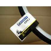 600x35A Michelin City J noir à flanc blanc - ETRTO 37-541