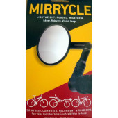 Rétroviseur Mirrycle Mountain, pour vélos hybrides, vélos couchés, vélos de route et VTT