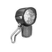 Phare avant LUMOTEC Dopp T Senso Plus - Moyeu dynamo - fixation sur fourche