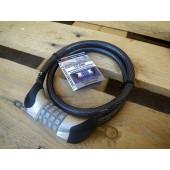 Antivol cable à code, Point, 120cm
