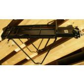 Porte Bagage Plate-forme NOIR à clapet - fixation sur tube de selle