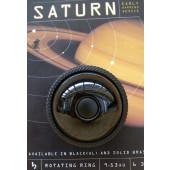 Sonnette rotative Mirrycle Saturne noire