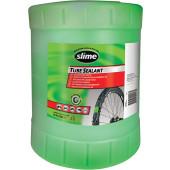 Gel préventif anti-crevaison Slime, bidon de 18.9 litres - traitement de 160 roues de vélo