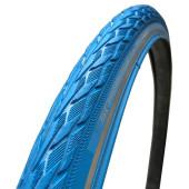 700x35c Schwalbe DELTA CRUISER PLUS HS431 Bleu PunctureGuard TwinSkin tringle rigide - ETRTO 37-622