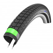 28x2.15 - Pneu Schwalbe HS439 BIG BEN PLUS Green Guard  - ETRTO 55-622 - Tringle Rigide