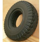 Bandage Plein Greentyre SHOPPA noir - 4.10/3.50-6 - 310x90 - largeur intérieure de jante 66 à 68 mm